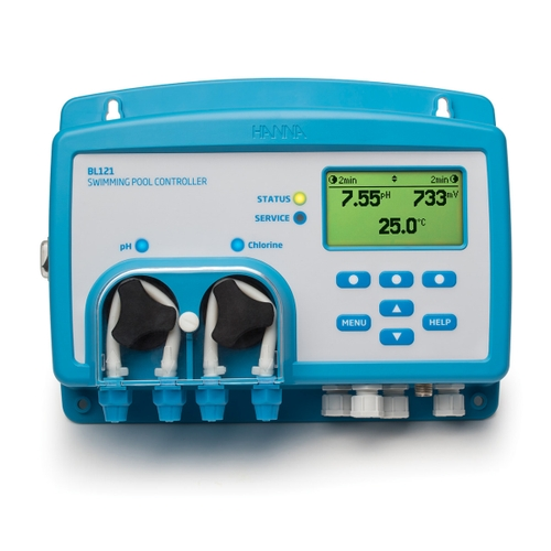 Swimming Pool controller with Built-in Dosing Pumps
