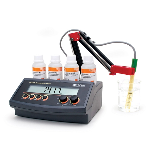HI2315 Conductivity Benchtop Meter with Automatic Temperature Compensation