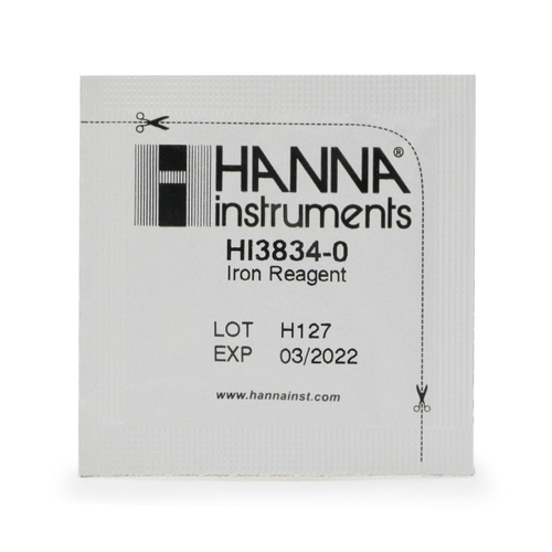 Iron (Low Range) Test Kit Replacement Reagents (100 tests) - HI38039-100