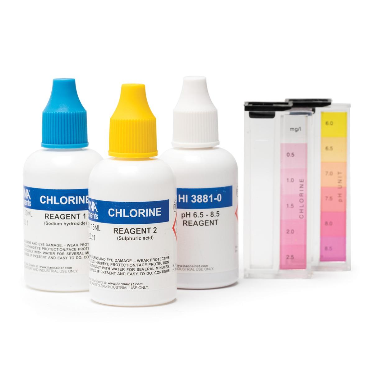 HI3887 Swimming Pool Chemical Test Kit