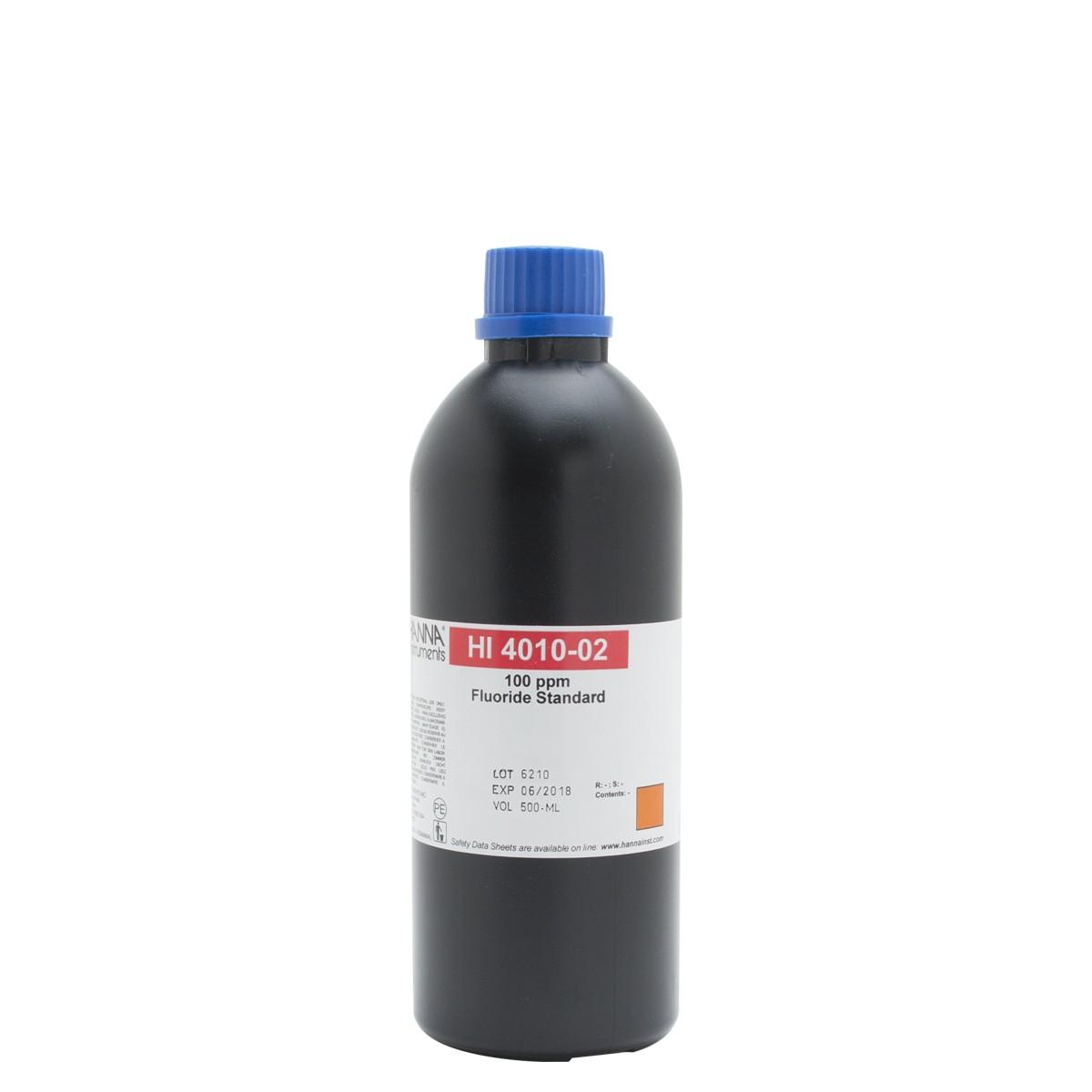Fluoride ISE 100 ppm Standard - HI4010-02