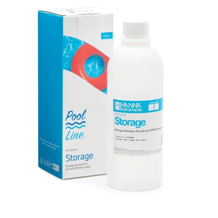 Pool Line Electrode Storage Solution (500 mL) - HI703004L