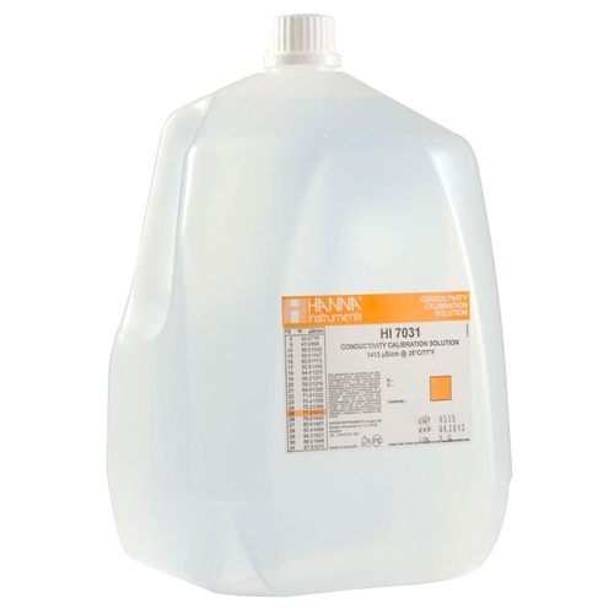 1413 μS/cm Conductivity Standard (1 Gallon) – HI7031/1G