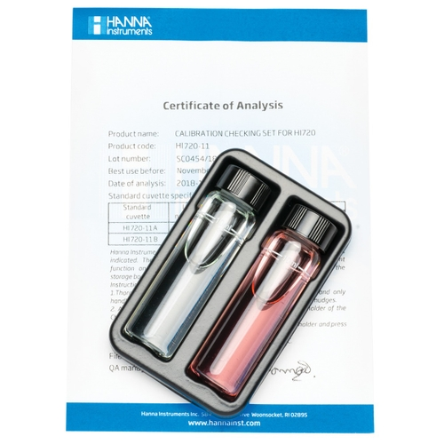 HI720-11 Calcium Hardness Checker Calibration Set