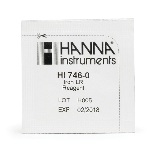HI746-25 Iron Low Range Checker Reagents