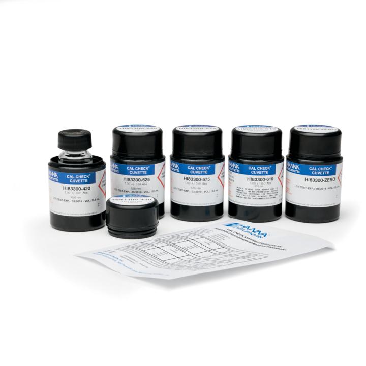 HI83306-11 CAL CheckTM Cuvette Kit for HI83306 Environmental Analysis Photometer