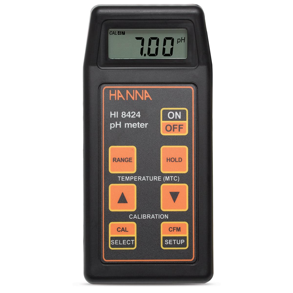 Portable pH/mV Meter - HI8424