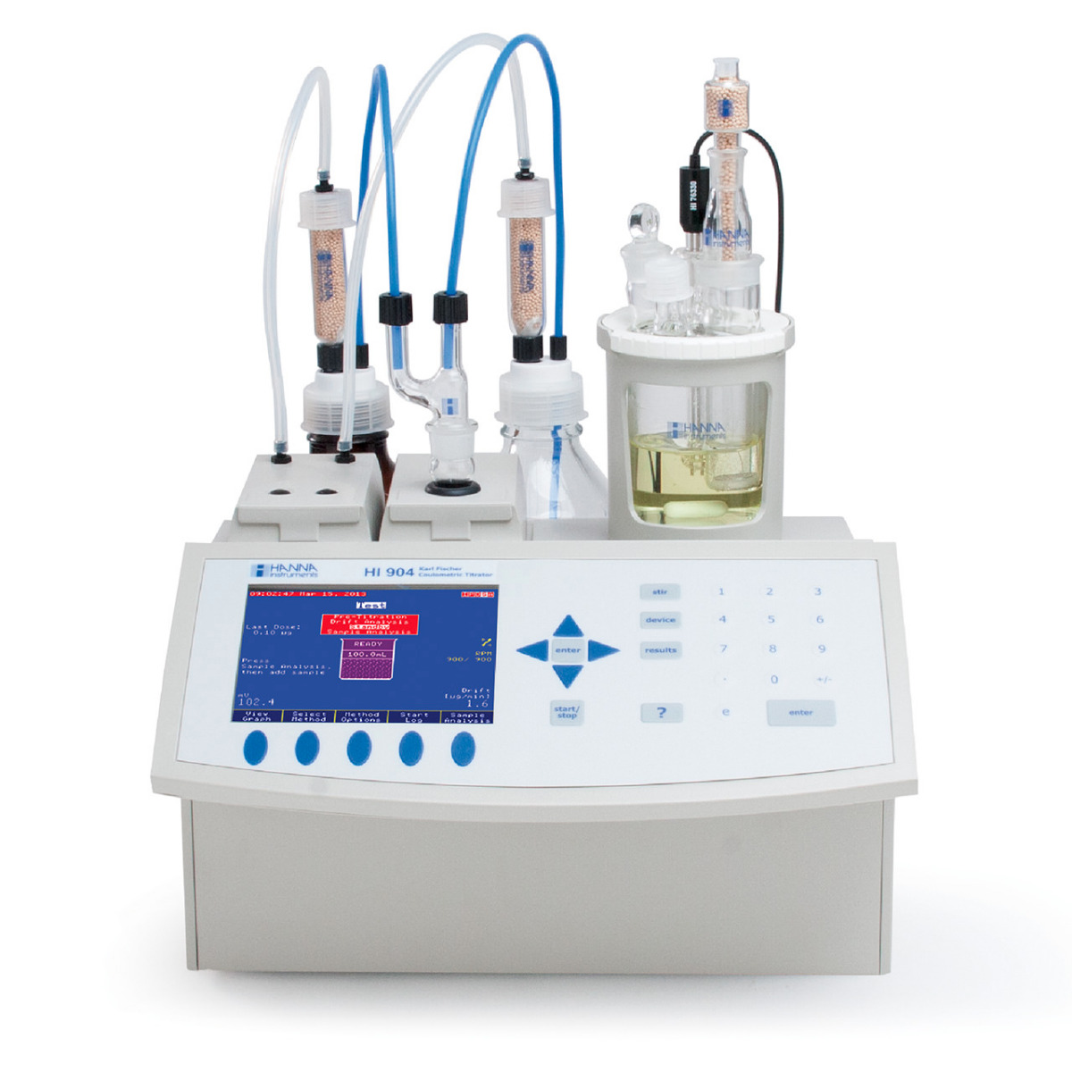 Karl Fischer Coulometric Titrator HI904