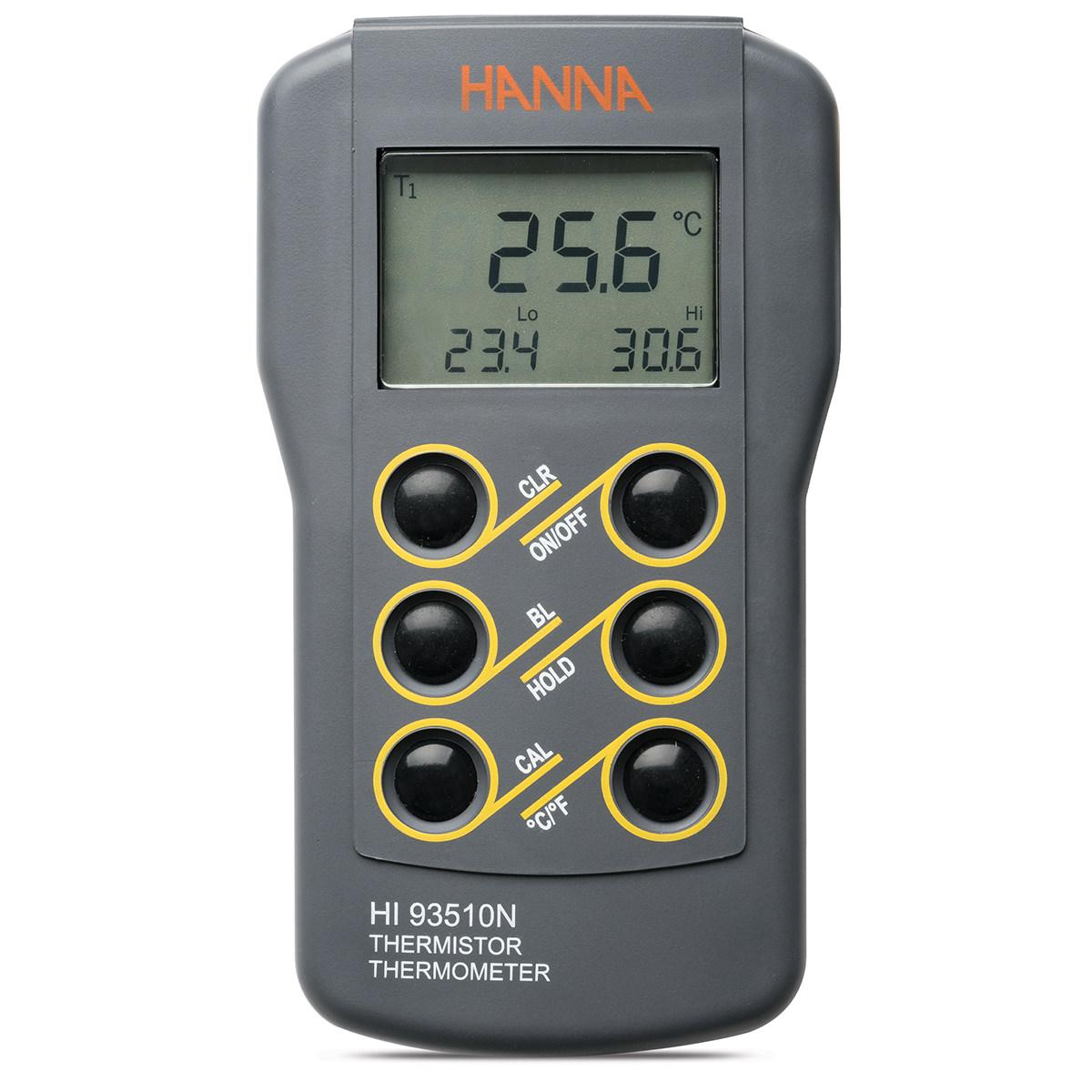 HI93510N Waterproof Thermistor Thermometer