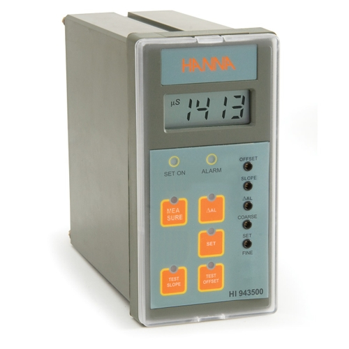 HI943500 Conductivity Analog Controller with Direct Input from Potentiometric Probe