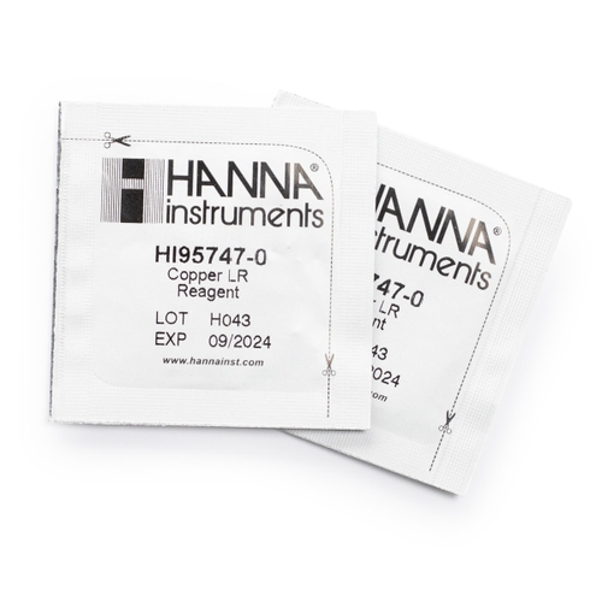 HI95747-01 Copper Low Range Reagents (100 tests)
