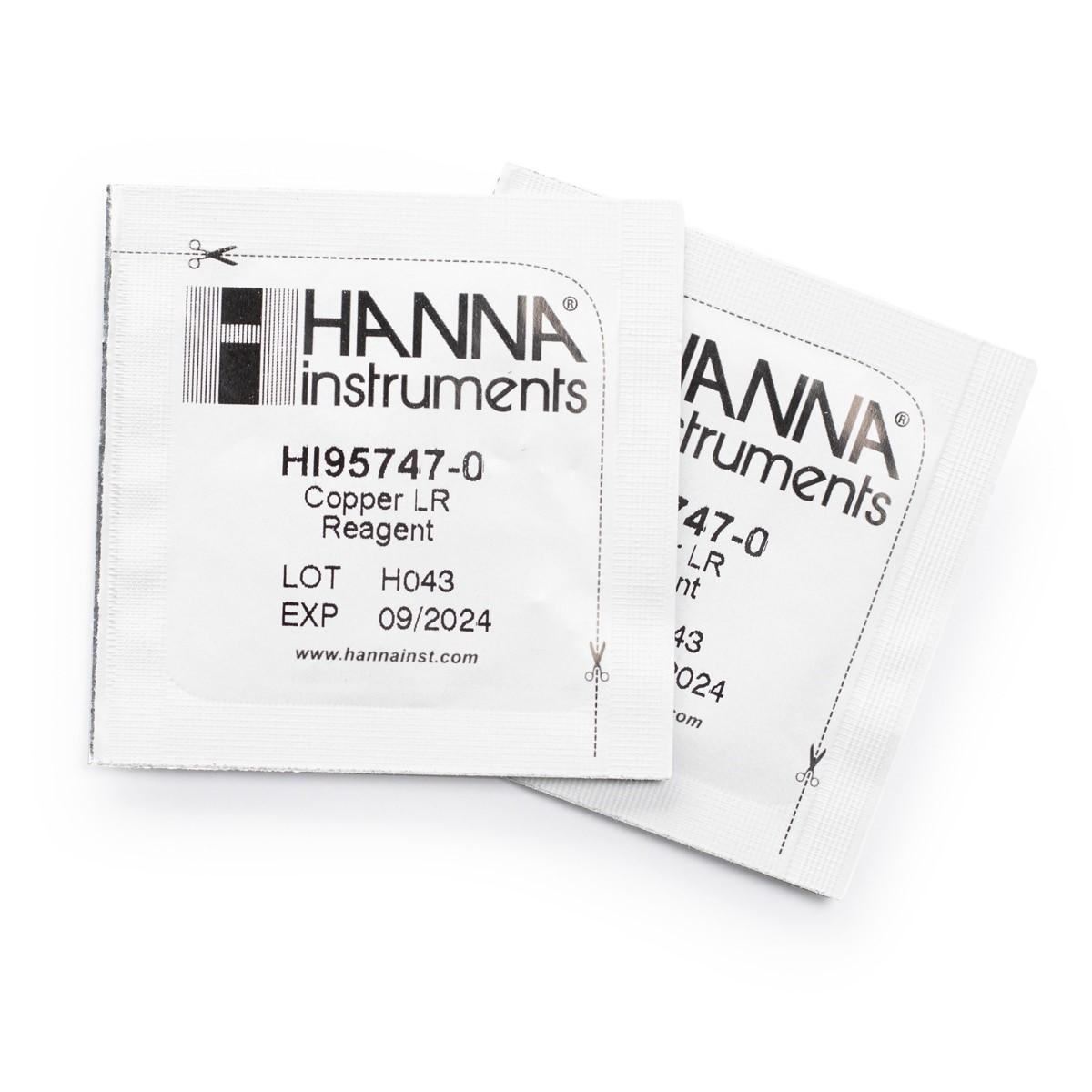 HI95747-01 Copper Low Range Reagents (300 tests)