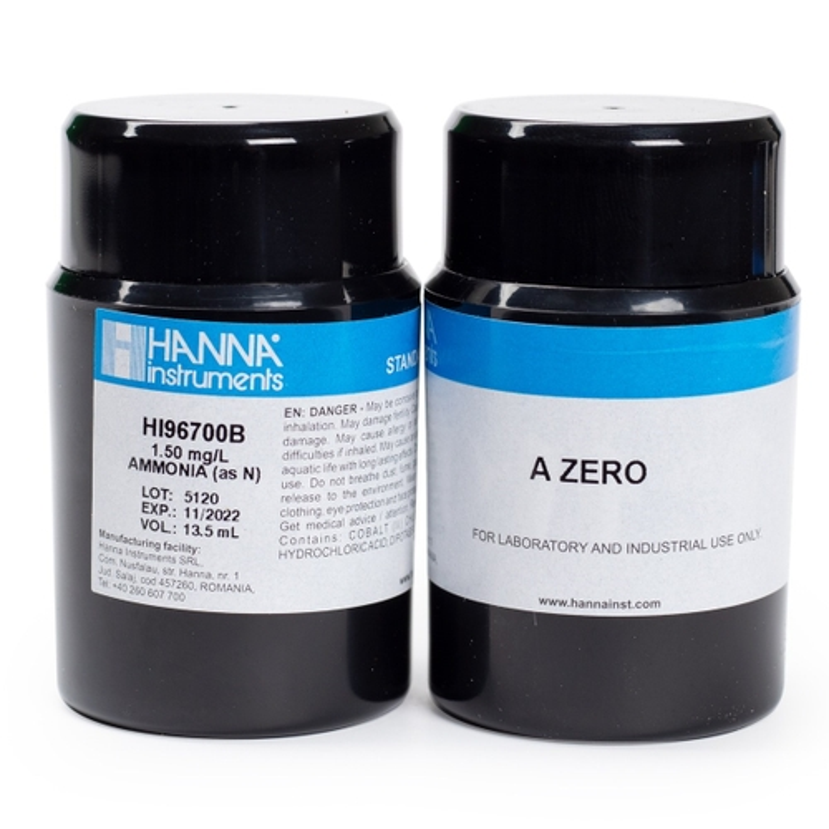 HI96700-11 Ammonia Low Range CAL Check Standards