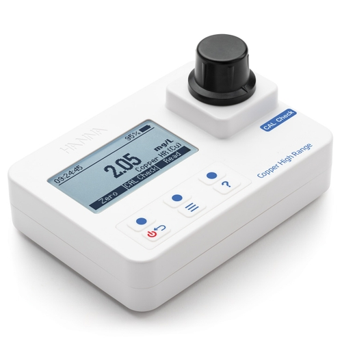 HI97702 Copper High-Range Portable Photometer with CAL Check