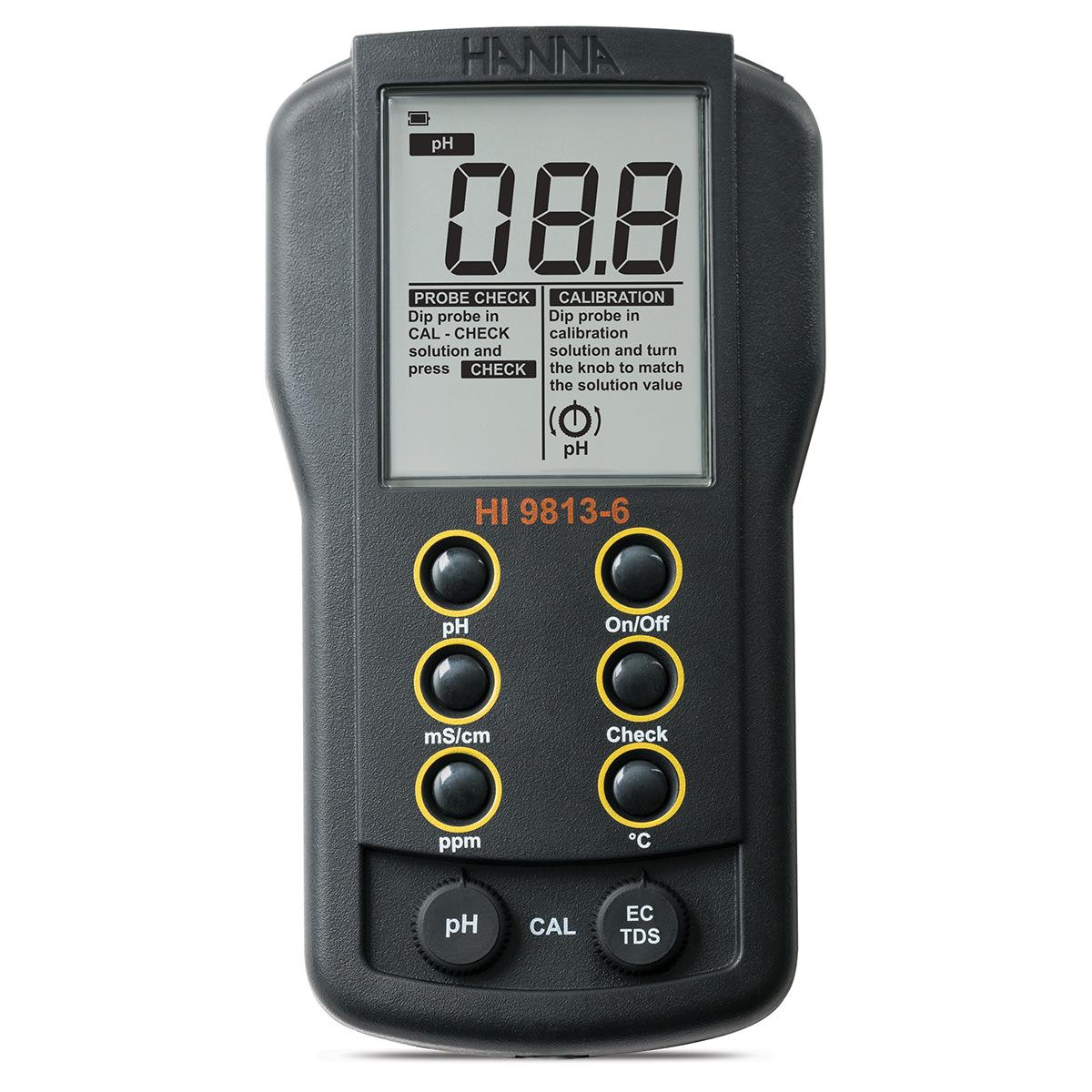 HI9813-5 Waterproof Portable pH/EC/TDS/Temperature Meter