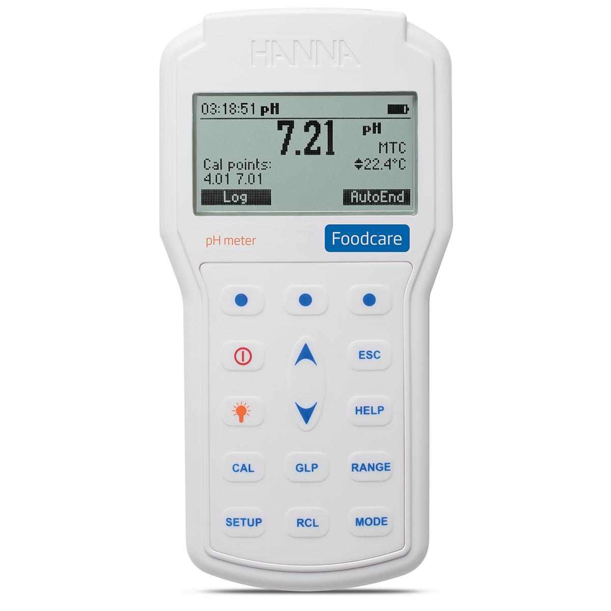 HI98161 Professional Foodcare Portable pH Meter