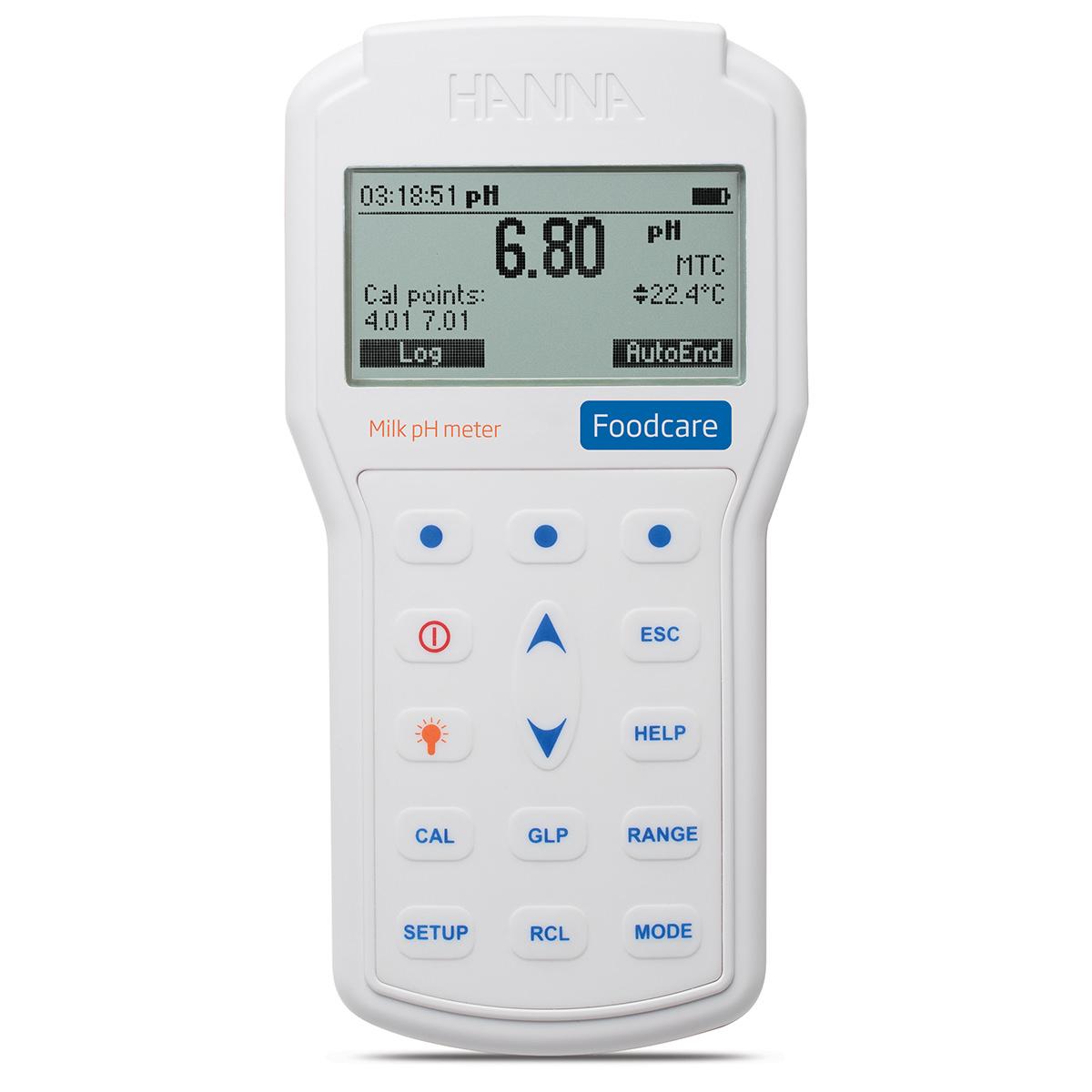 HI98162 Professional Portable Milk pH Meter