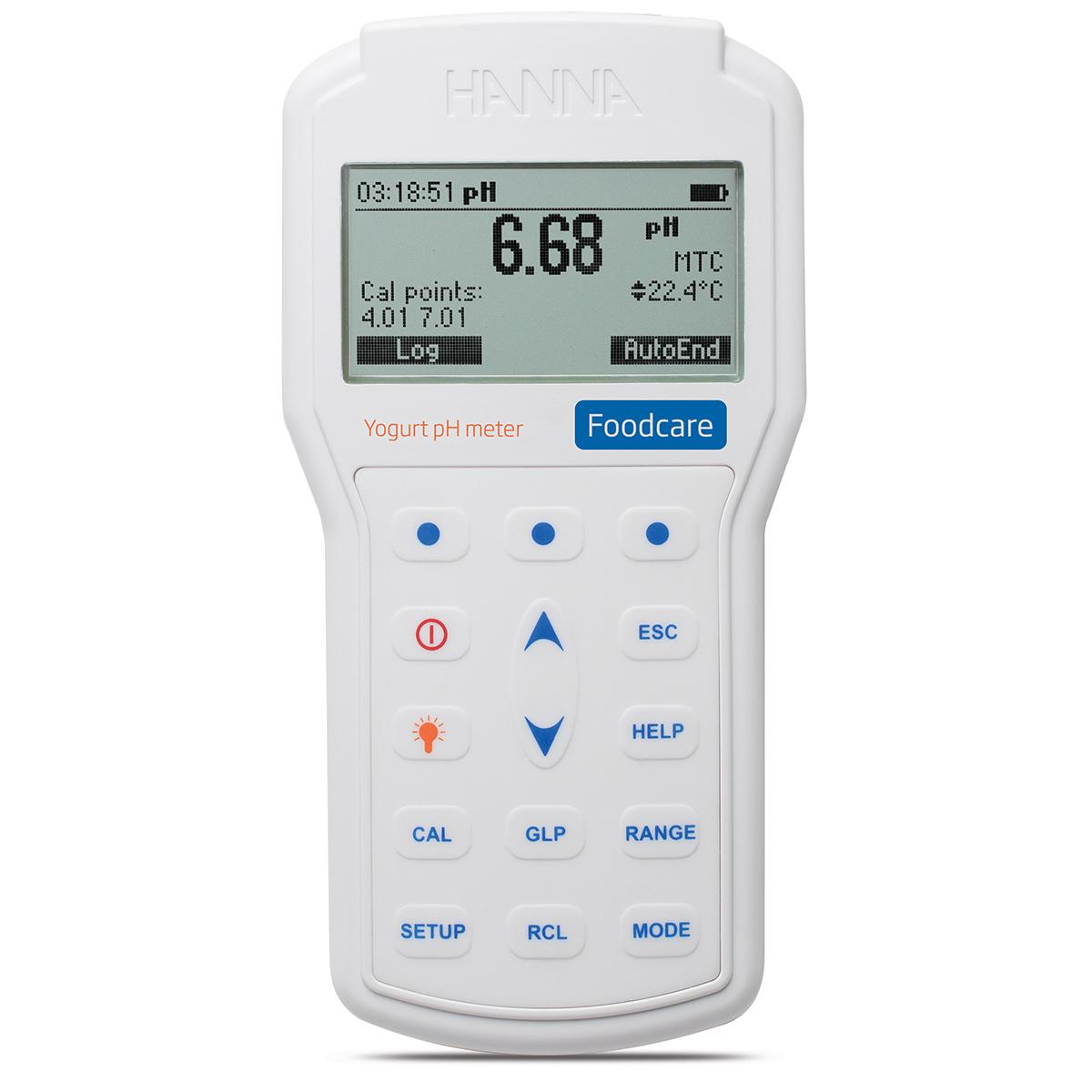 HI98164 Professional Portable Yogurt pH Meter