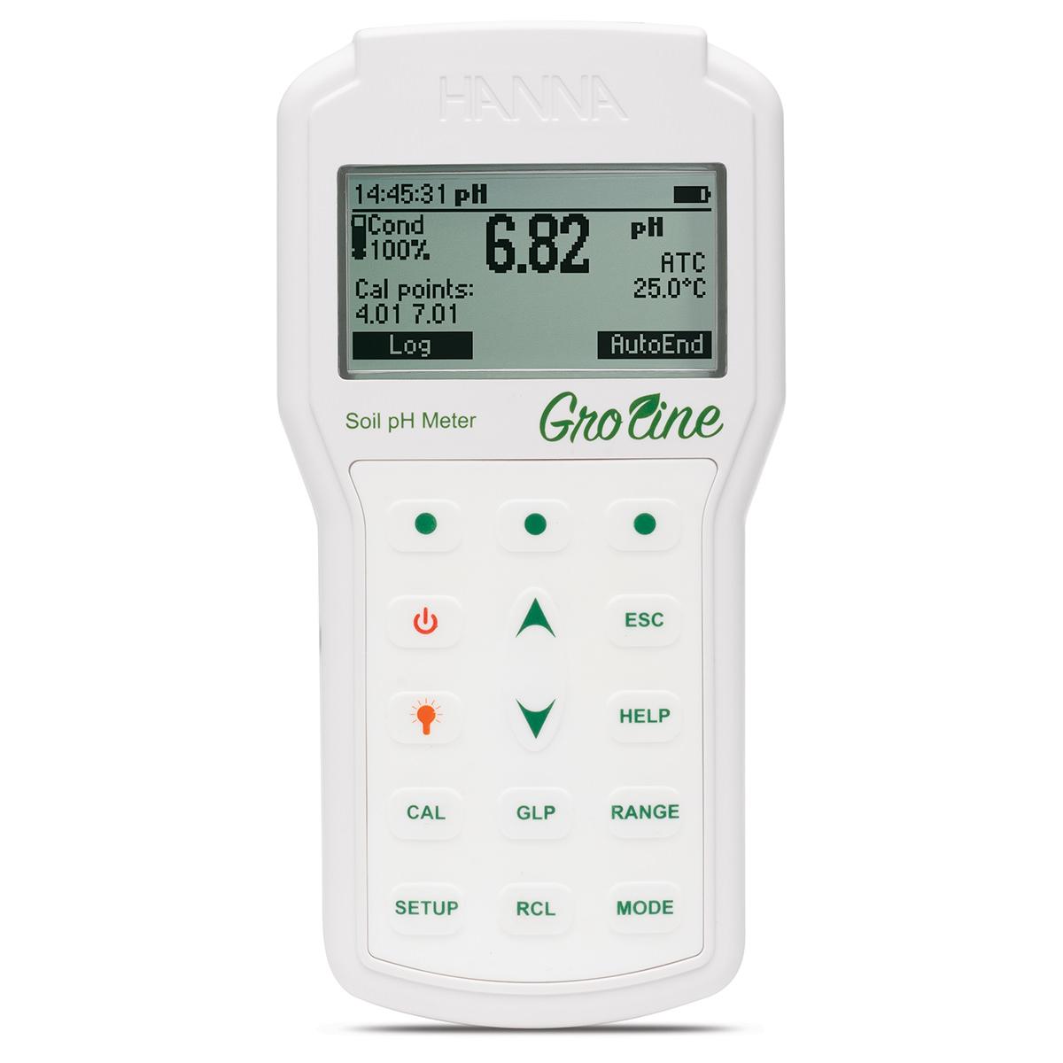HI98168 Professional GroLine Portable Soil pH Meter