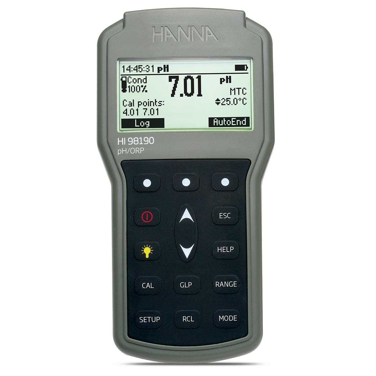 HI98190 Waterproof Portable pH/ORP Meter