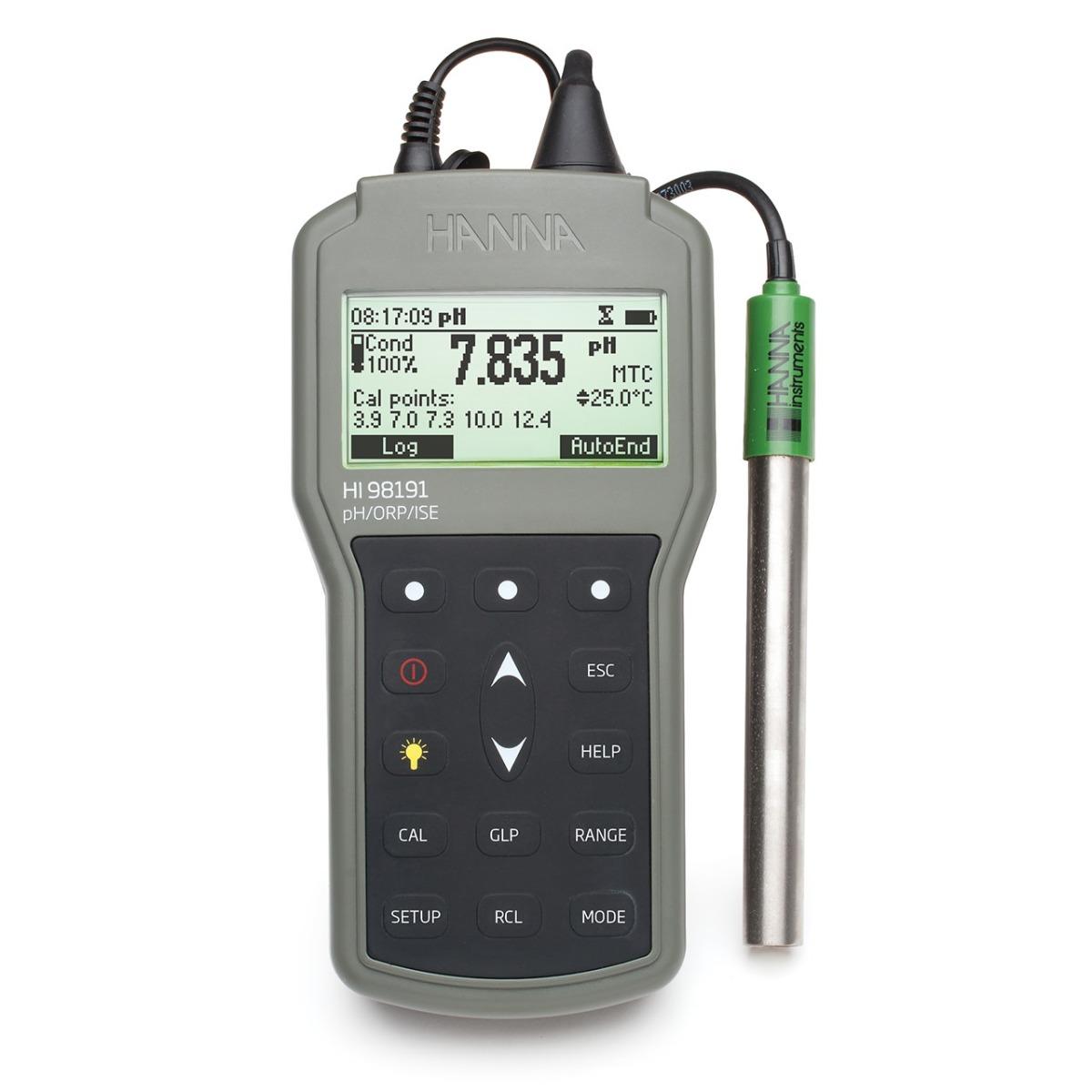 HI98191 Waterproof Portable pH/ORP/ISE Meter