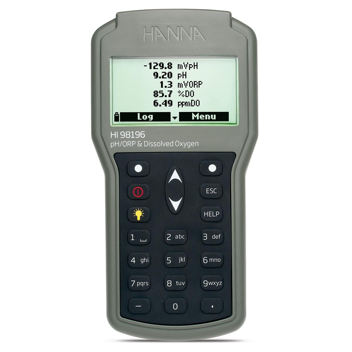 HI98196 Multiparameter pH/ORP/DO/Pressure/Temperature Waterproof Meter