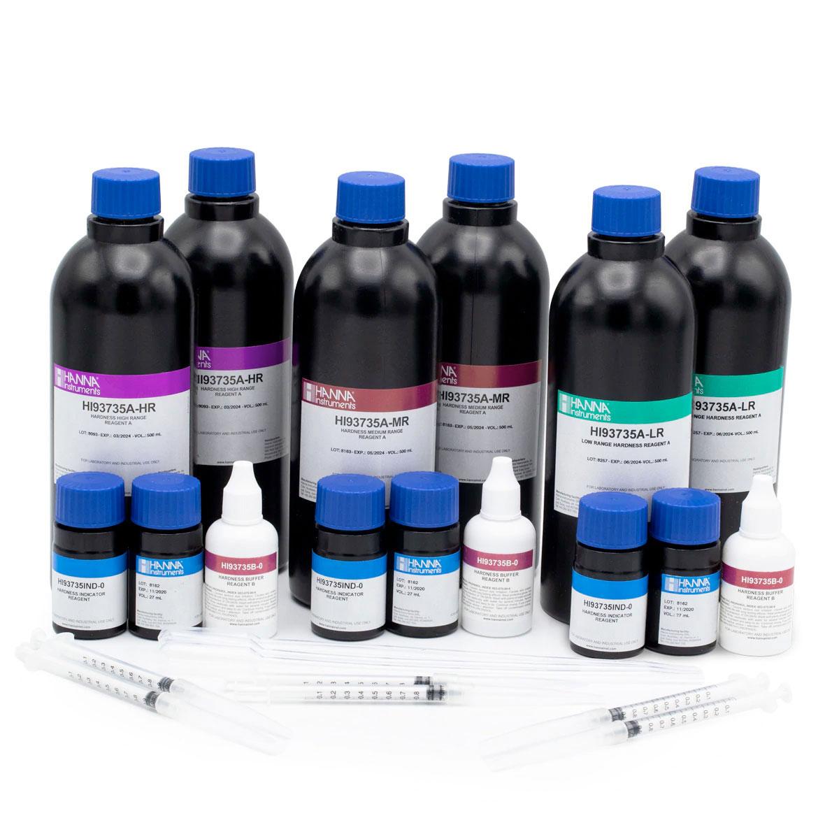 Total Hardness Colorimetric Reagents (100 tests) - HI93735-0