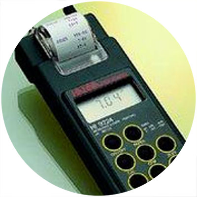 1992 — World's first portable pH meter with plain-paper printer